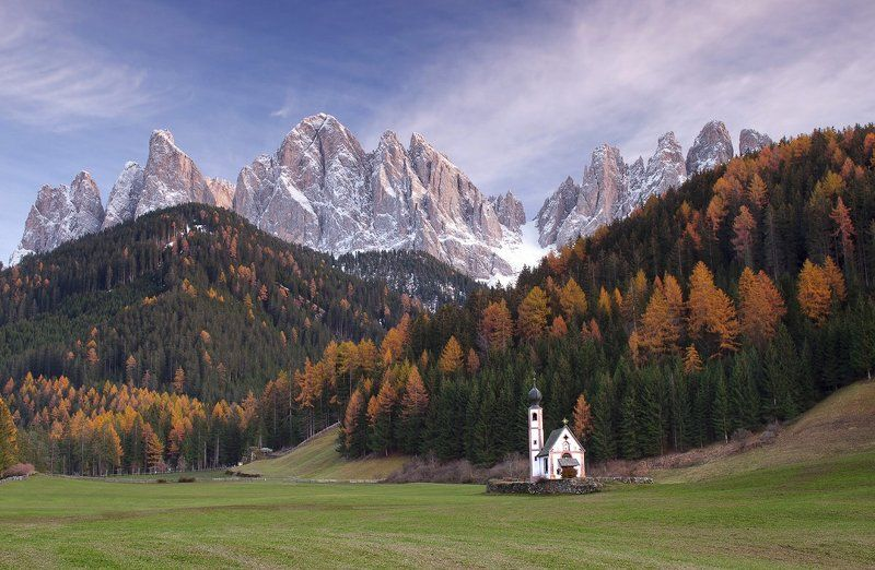 italy, dolomite, италия, доломиты, альпы Santa Maddalenaphoto preview