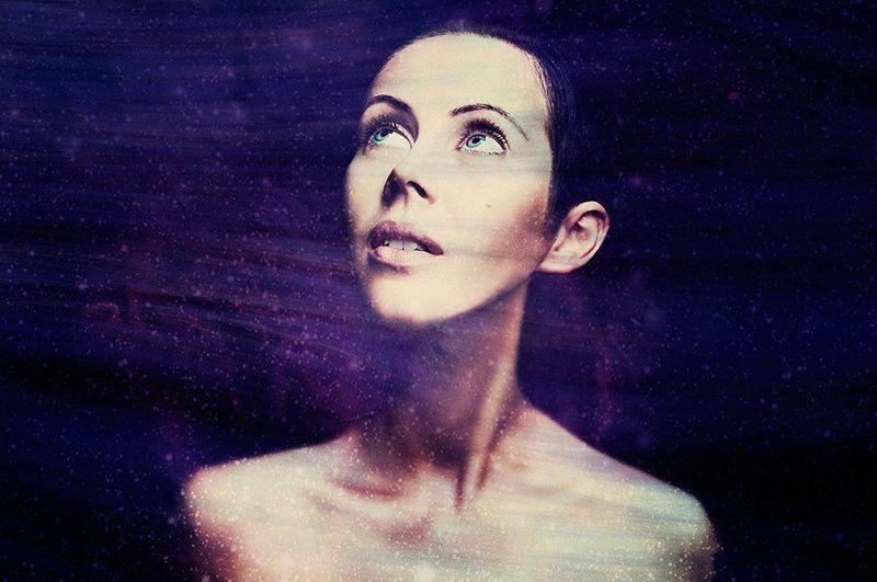 портрет, девушка, любовь, космос Портрет одного космосаphoto preview