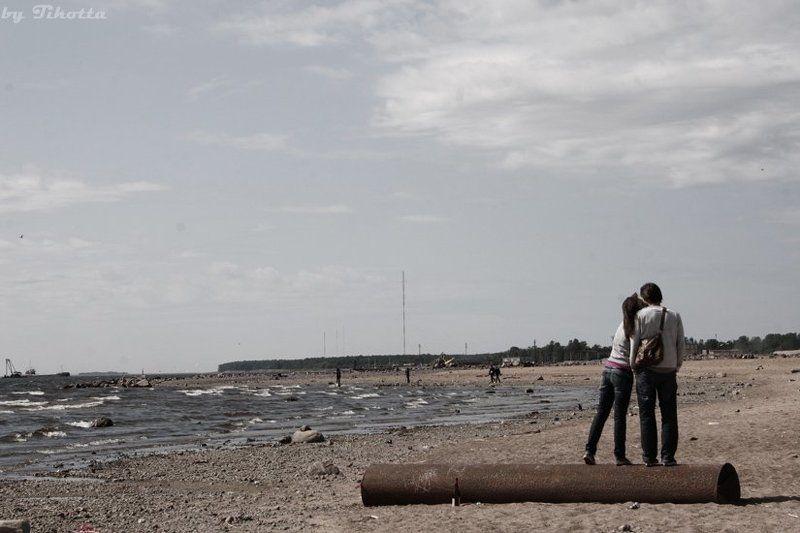 питер, залив, пляж, любовь Любовьphoto preview