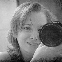 Portrait of a photographer (avatar) button (Natalia Kovalik)