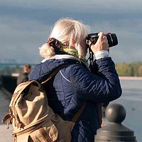 Portrait of a photographer (avatar) Елена Поликарпова (Helena Polukarpova)