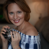 Portrait of a photographer (avatar) Анна Сапегина (Anna Sapegina)