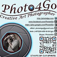 Portrait of a photographer (avatar) photo4go