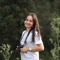 Portrait of a photographer (avatar) муртиева алида (Alida Murtiyeva)