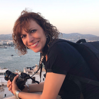 Portrait of a photographer (avatar)  Amada (Amada Terradillos)