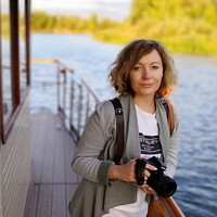 Portrait of a photographer (avatar) Абрамова Анастасия (Anastasiya Abramova)