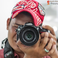 Portrait of a photographer (avatar) nguyenkhoa