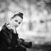 Portrait of a photographer (avatar) Eva White